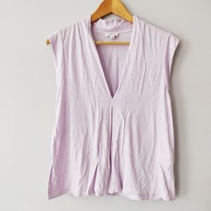 Wilfred lilac sleeveless top